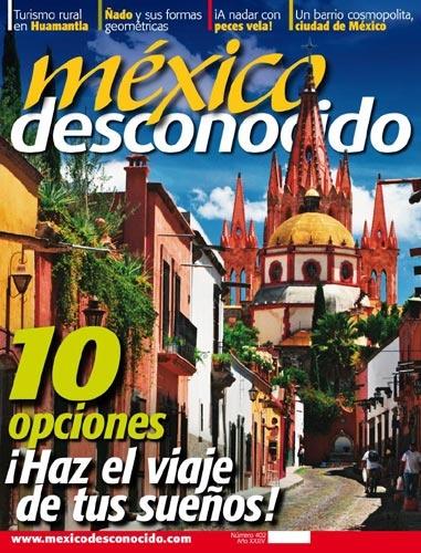 Picture of 10 Opciones: Haz el Viaje de Tus Suenos en Mexico Desconocido- Item No.md-402