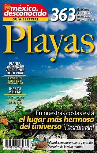 Picture of 363 Playas de Mexico - Guia Especial Mexico Desconocido - Item No. md-playas