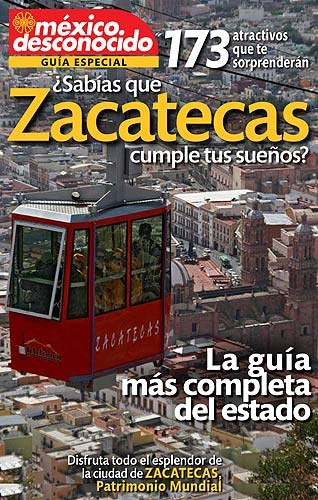 Picture of Guia Especial de  Zacatecas Mexico&nbsp;- Item No.&nbsp;md-zacatecas