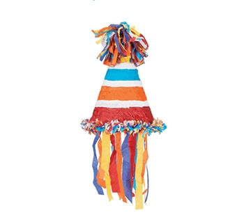 Picture of Party Hat Pinata&nbsp;- Item No.&nbsp;pinata-12981