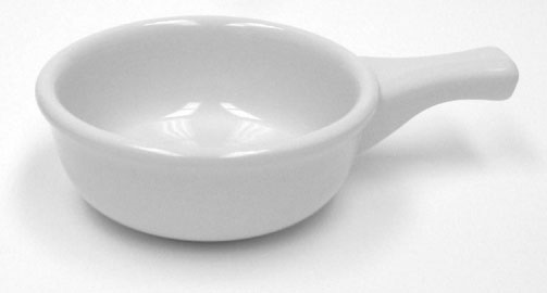 Picture of Tuxton Casserole Dish 10oz (Cazuela para Queso Fundido)&nbsp;- Item No.&nbsp;tuxton-tre-048